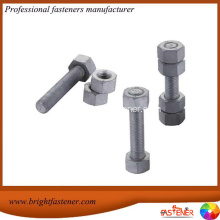 Customized for Carbon Steel Stud Bolts Astm A193 B7 A194 2h Stud Bolts And Nuts export to Nepal Importers
